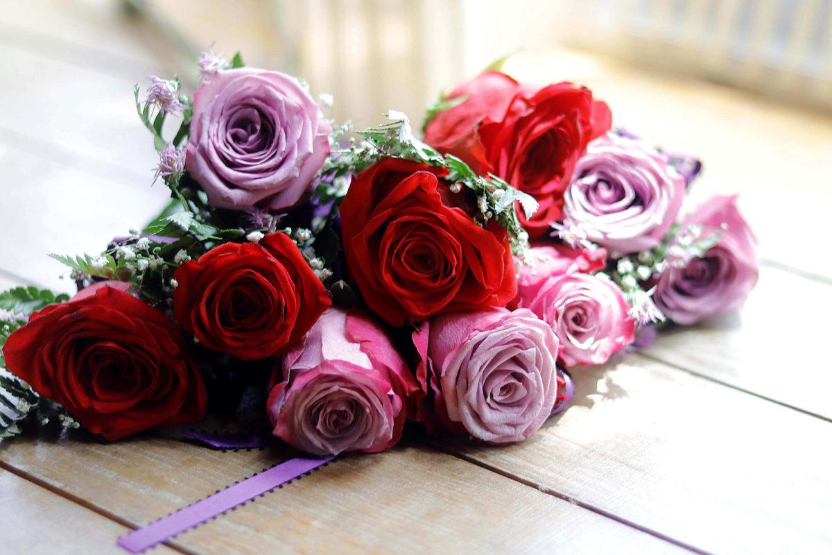 partecipazioni di matrimonio bouquet da sposa