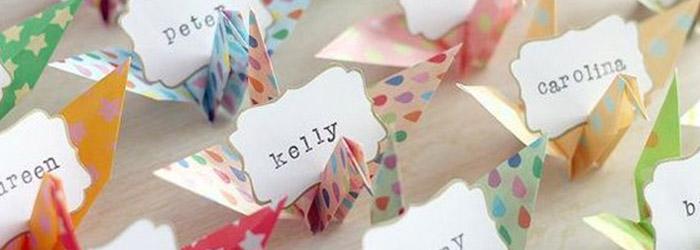 Matrimonio Tema Origami : Tema matrimonio idee originali del love the date