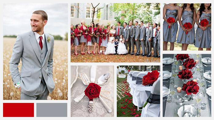 Tema Matrimonio In Rosso : Abbinare i colori matrimonio rosso love the date