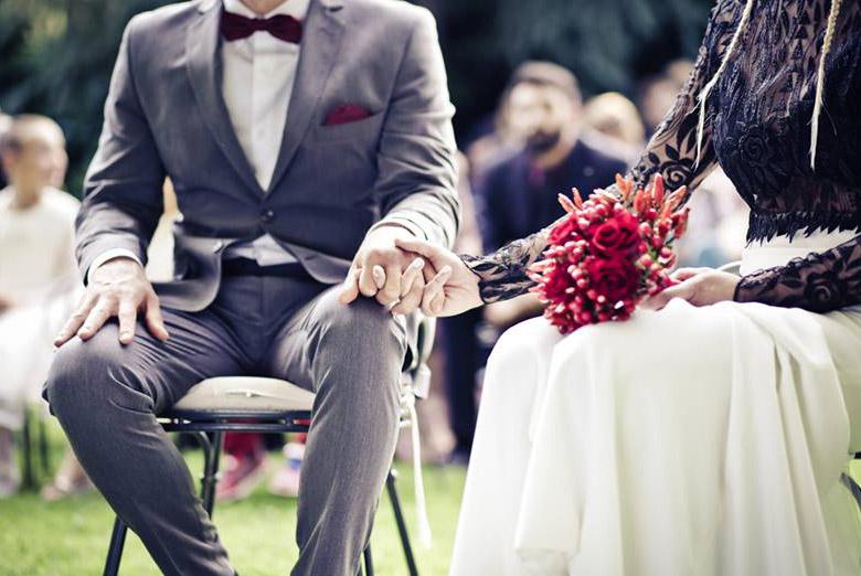 matrimonio originale moderno creativo