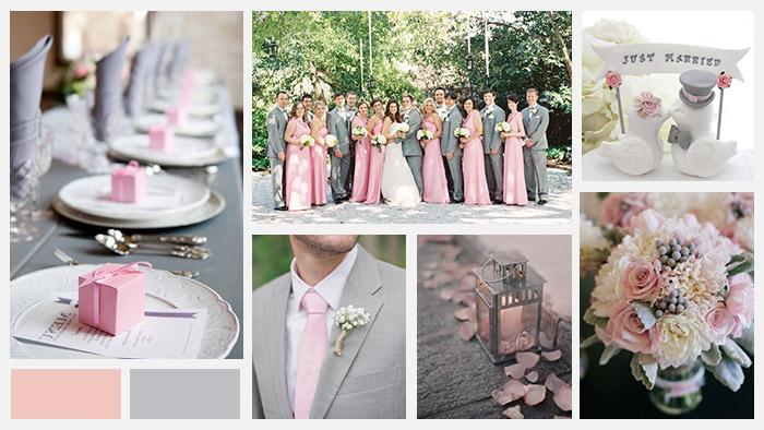 Tema Matrimonio Rosa Quarzo : Abbinare i colori: matrimonio rosa love the date