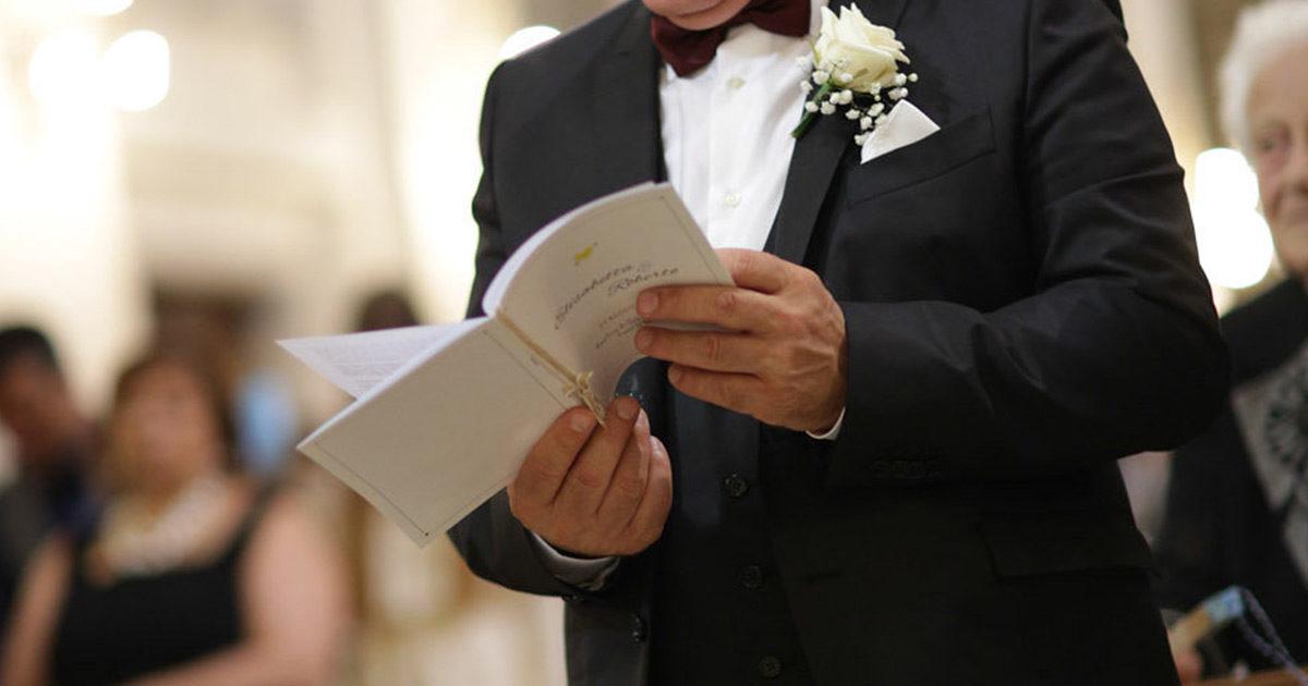 Matrimonio Simbolico Libretto : Regole per il perfetto libretto messa love the date