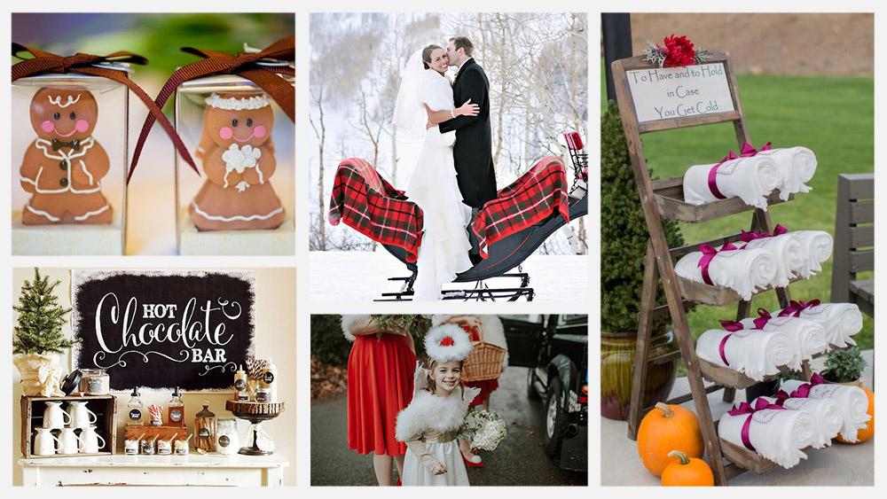 Matrimonio Natalizio Idee : Idee per un matrimonio natalizio love the date