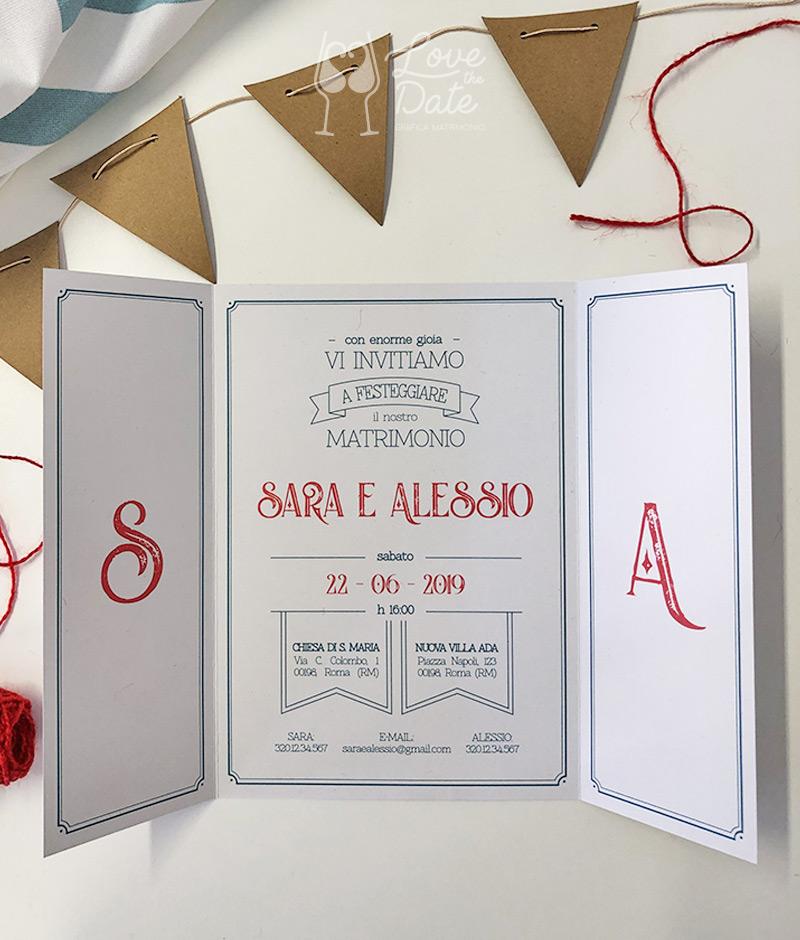 Partecipazioni Matrimonio Via Mail.Enjoy Retro