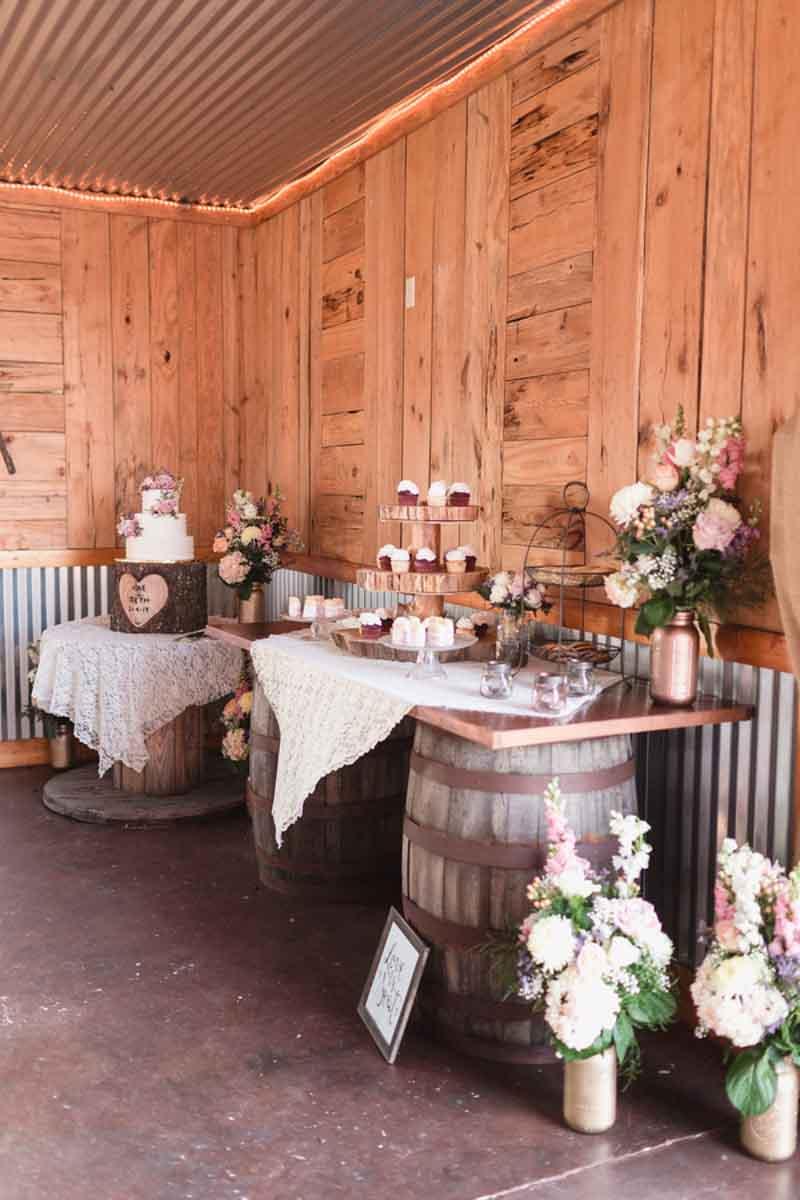 Decorazioni matrimonio: come utilizzare il legno