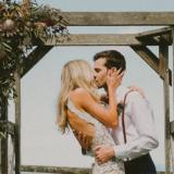 Decorazioni matrimonio legno